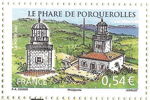 La France par ses timbres sous Google Earth - Page 14 Porque11