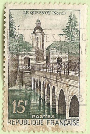La France par ses timbres sous Google Earth - Page 16 Quesno10