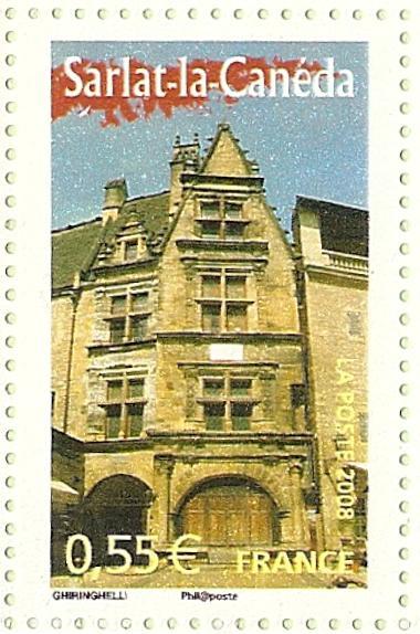 La France par ses timbres sous Google Earth - Page 15 Sarlat10