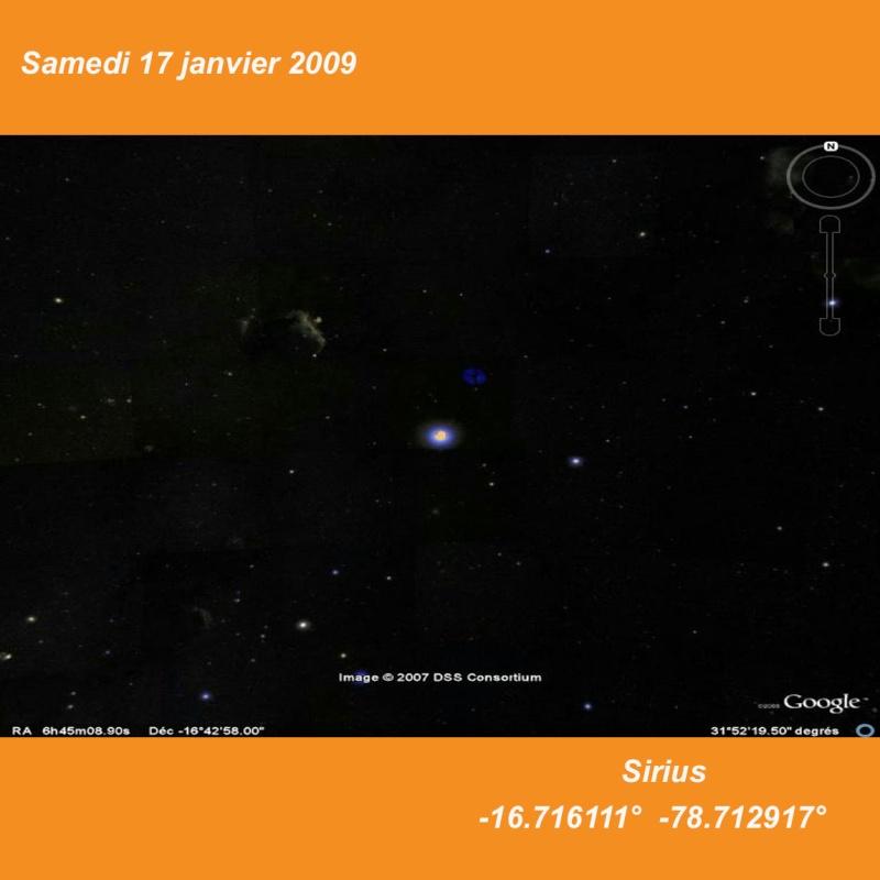 L'éphéméride TSGE = ANNEE 2009 = - Page 3 Sirius10