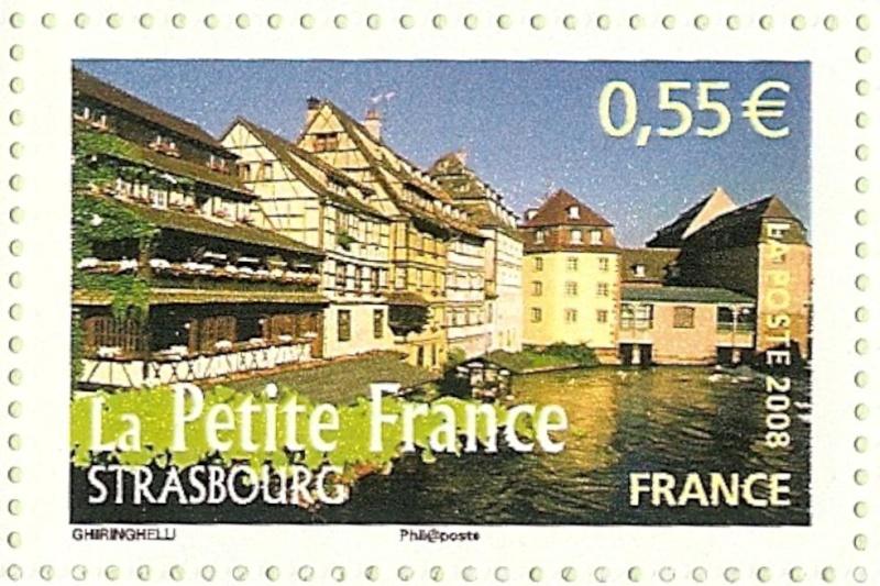 La France par ses timbres sous Google Earth - Page 15 Strasb10