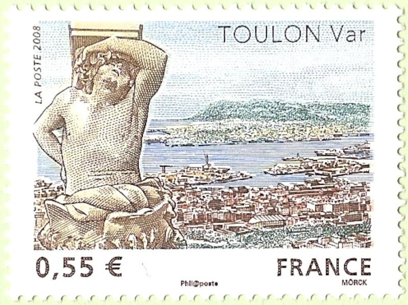La France par ses timbres sous Google Earth - Page 10 Toulon13