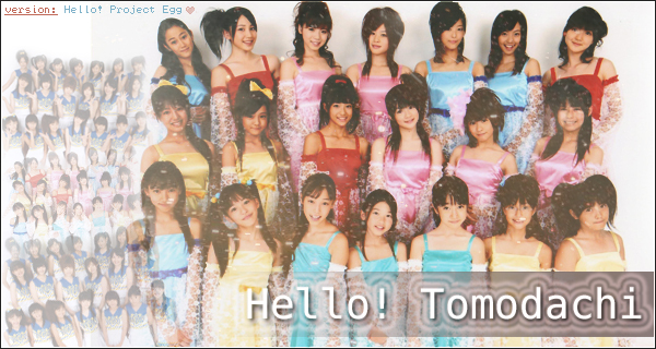 Hello ! Tomodachi