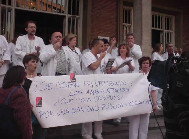 Desaparición del Instituto Madrileño de la Salud 20080410