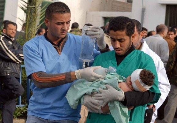 Ayuda a la población civil de Gaza Ca-16610