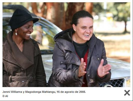 Buenas noticias.- Libertad para las activistas Jenni Williams y Magodonga Mahlangu Dibuj176