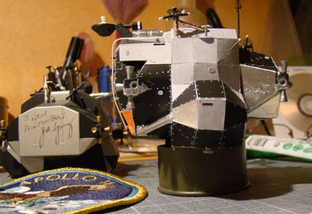 Recherche maquette module lunaire 1/48eme montée 0512