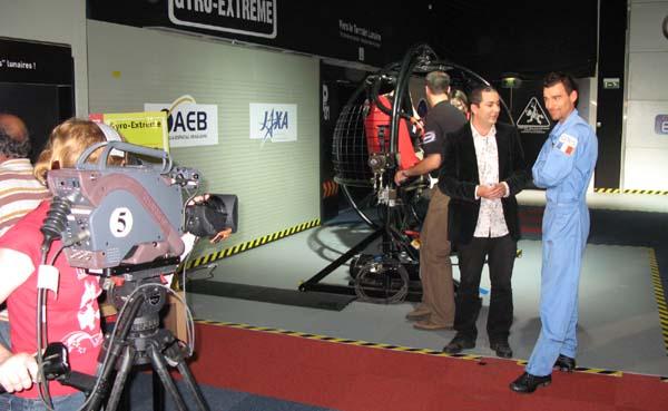 France 3 Sud : émission en direct de la Cité de l'Espace (09/06/2009) 1010