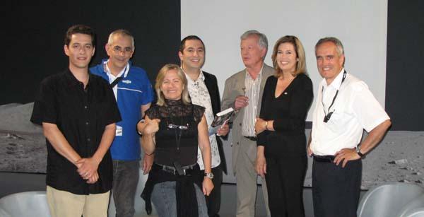 France 3 Sud : émission en direct de la Cité de l'Espace (09/06/2009) 1110