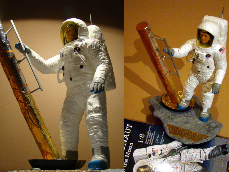 REVELL 1/8 Apollo Astronaut on the Moon 800_a10