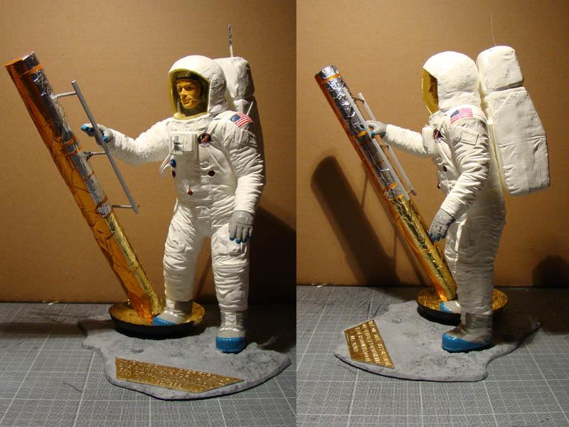 REVELL 1/8 Apollo Astronaut on the Moon 800_c10