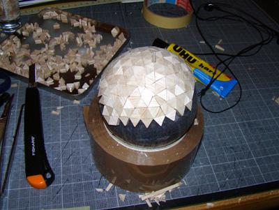 Module lunaire soviétique LK – Maquette 1/24ème Dsc05416