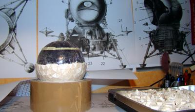 Module lunaire soviétique LK – Maquette 1/24ème Dsc05417