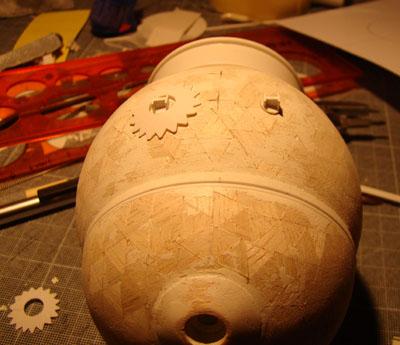 Module lunaire soviétique LK – Maquette 1/24ème Dsc07924