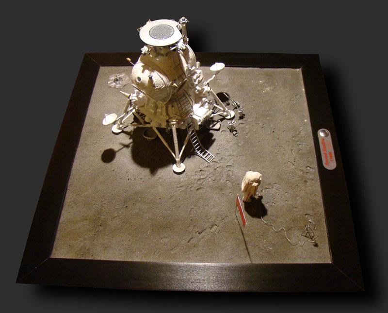 Module lunaire soviétique LK – Maquette 1/24ème - Page 12 Fini_010