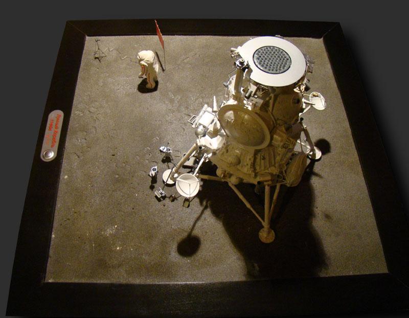 Module lunaire soviétique LK – Maquette 1/24ème - Page 12 Fini_012