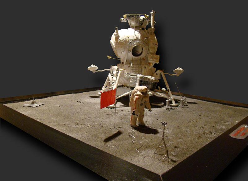 Module lunaire soviétique LK – Maquette 1/24ème - Page 12 Fini_014