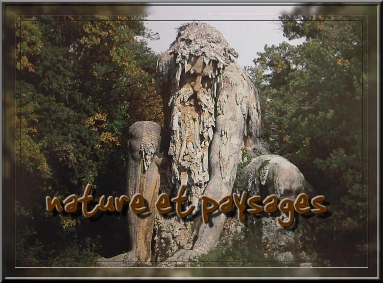 nature et paysage