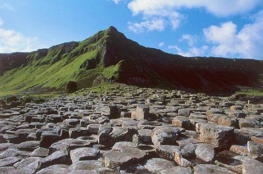 La Chaussée des Géants, paysage d'Irlande du Nord 16r3-v10