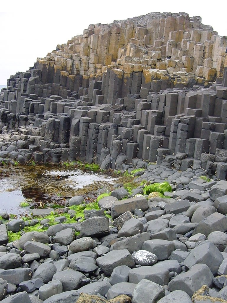 La Chaussée des Géants, paysage d'Irlande du Nord Antrim10