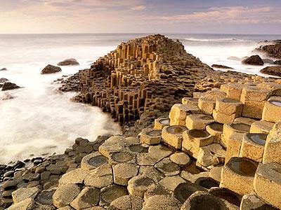 La Chaussée des Géants, paysage d'Irlande du Nord C08f8910