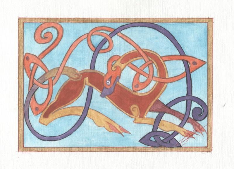 J'aime les entrelacs et autres dessins celtiques - Page 2 Chien_10