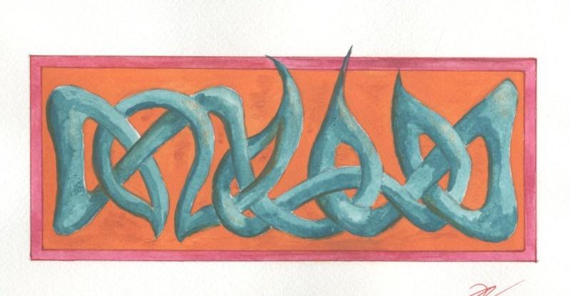 J'aime les entrelacs et autres dessins celtiques - Page 5 Entrel11