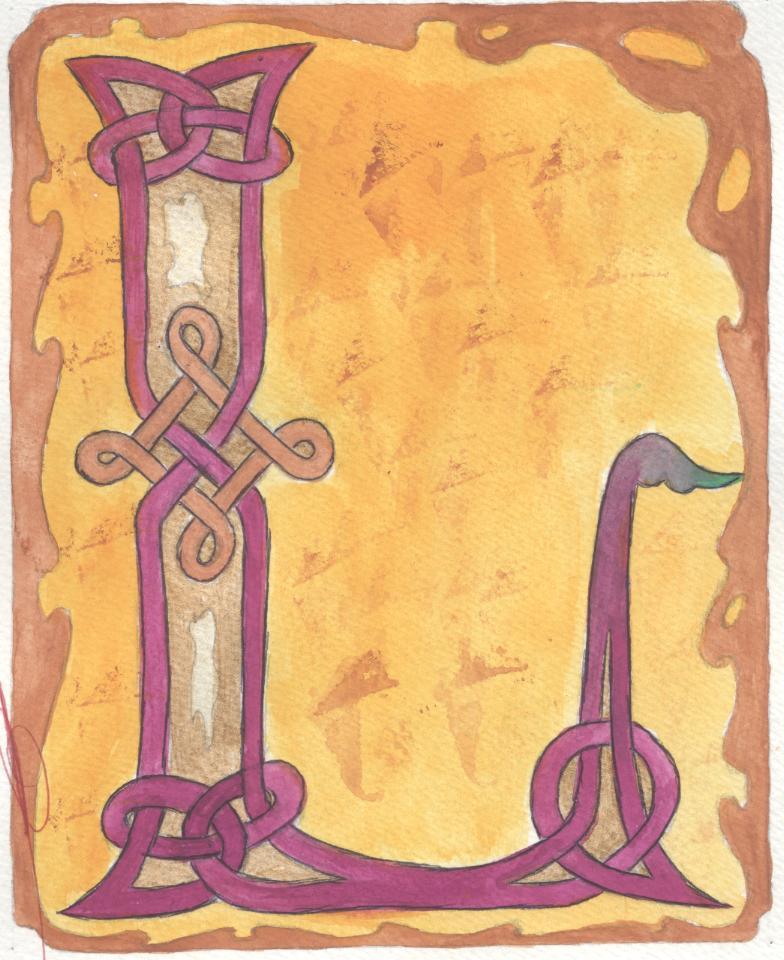 J'aime les entrelacs et autres dessins celtiques - Page 12 Lettre11