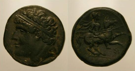 Bronze de Hiéron II de Syracuse Hieron10
