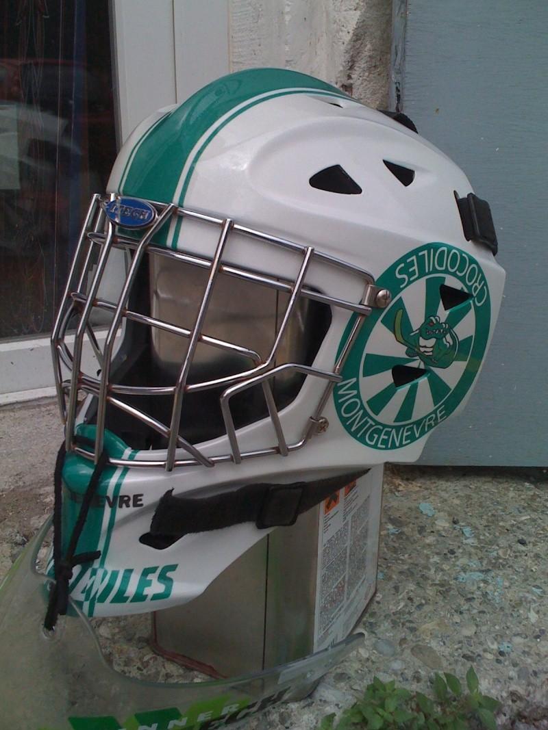 Casque de hockey a pierro Photo_46
