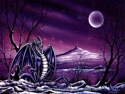 Dragons mauves 22760210