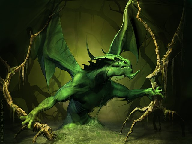 Dragons verts Dragon23