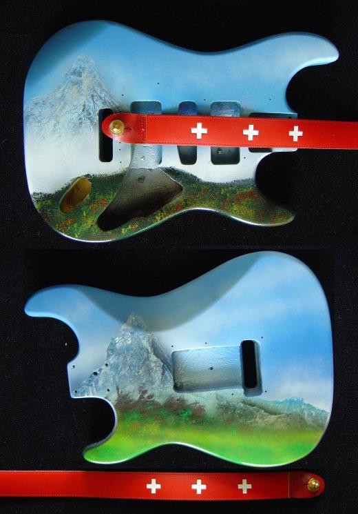 La guitare Denali Bodysu10