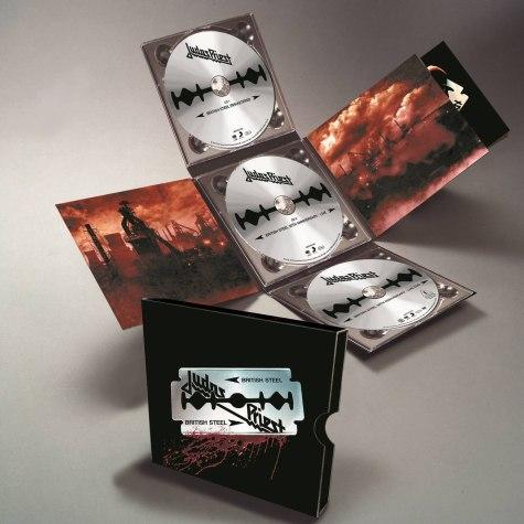JUDAS PRIEST  British Steel deluxe version (avec DVD live) 00000048