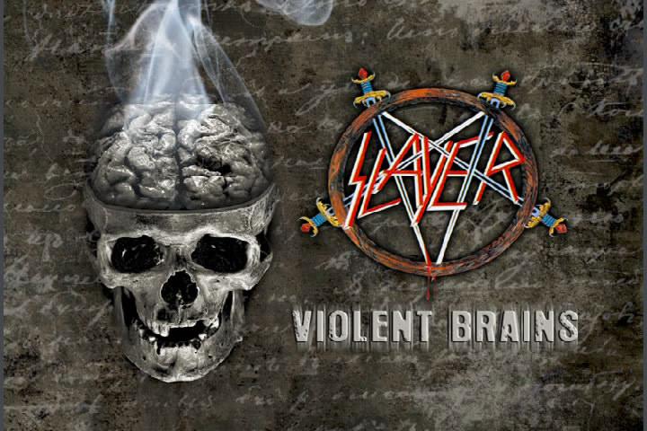 SLAYER Violent Brain (2010) Bootleg 00000050