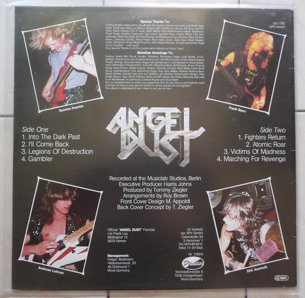 ANGEL DUST Into The Dark Past (1986) 211