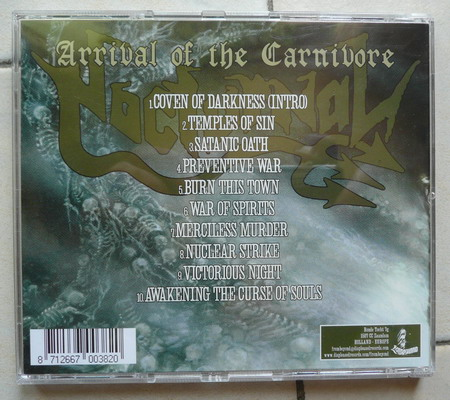 NOCTURNAL Arrival Of The Carnivore (2004) 310