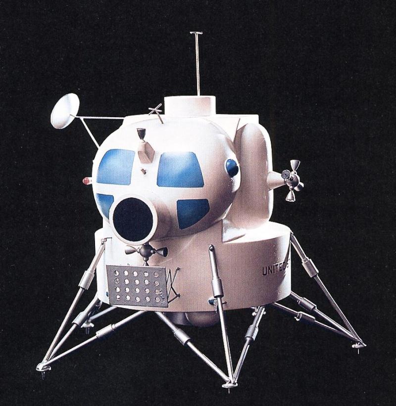 Proto du LEM de 1962 chez Grumman 19622010