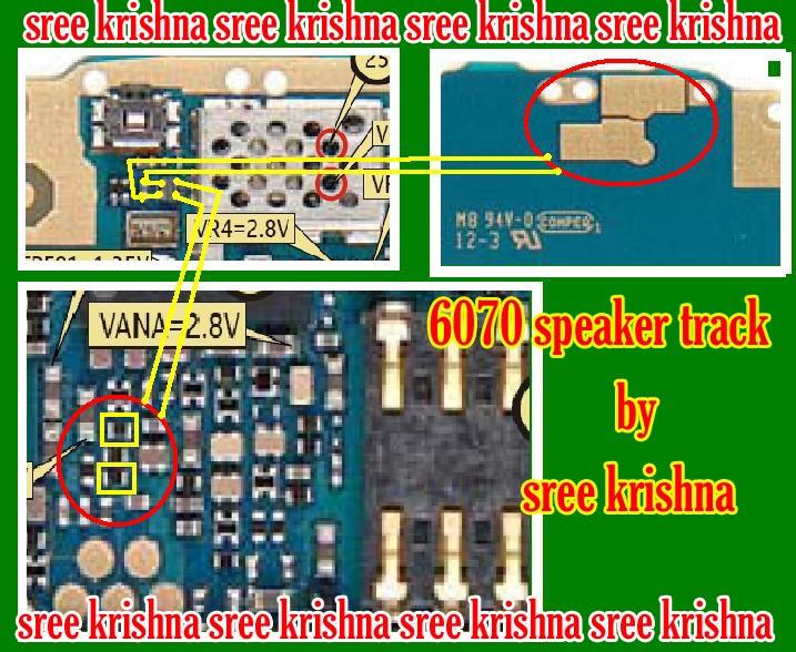 NOKIA BB5 SPEAKER PROBLEM 60702010