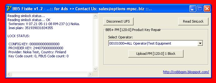 Finaly FREE ** BB5 FixMe (Can Fix BB5+ PM[120:0]) for UFS BOX Ufs10