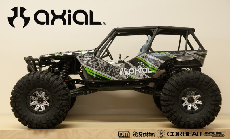 New Crawler Axial Wraith For_ca10