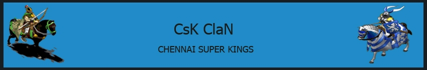 Chennai Super Kingz - Indian AOC Clan