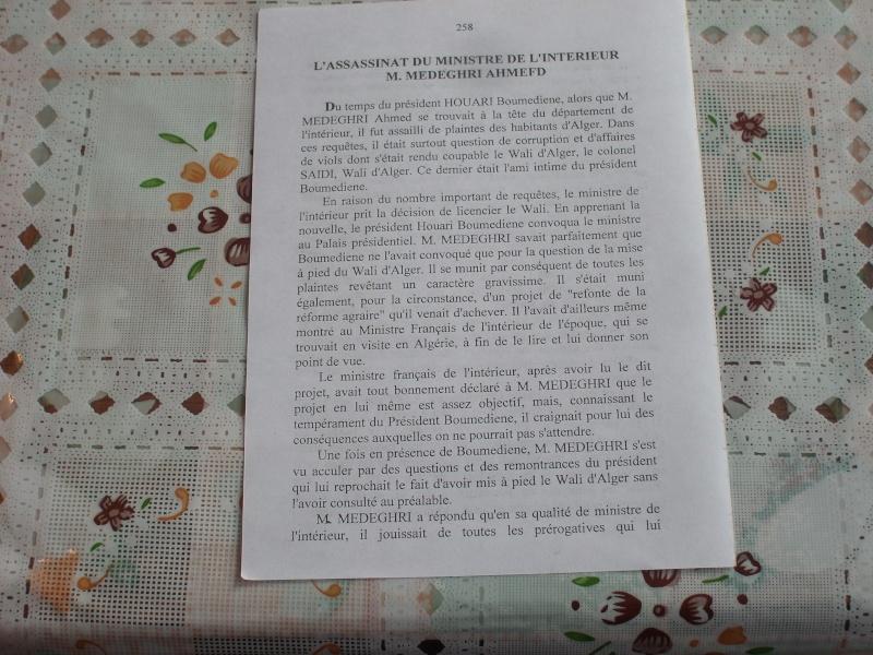 L'ASSASINAT DE AHMED MEDEGHRI VUE PAR UN MAROCAIN Sl270213