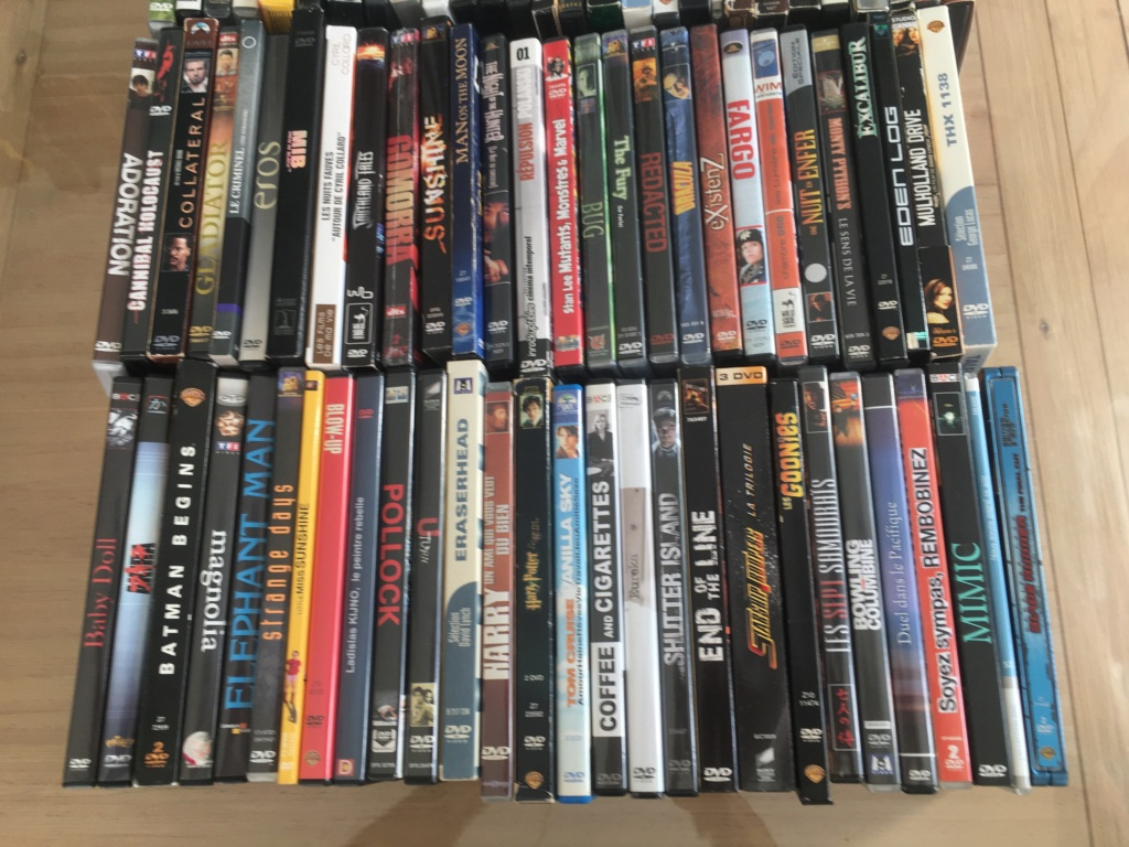 (VENDS) : Lot 20 blu-ray + lot 84 DVD + divers Dvd-lo11