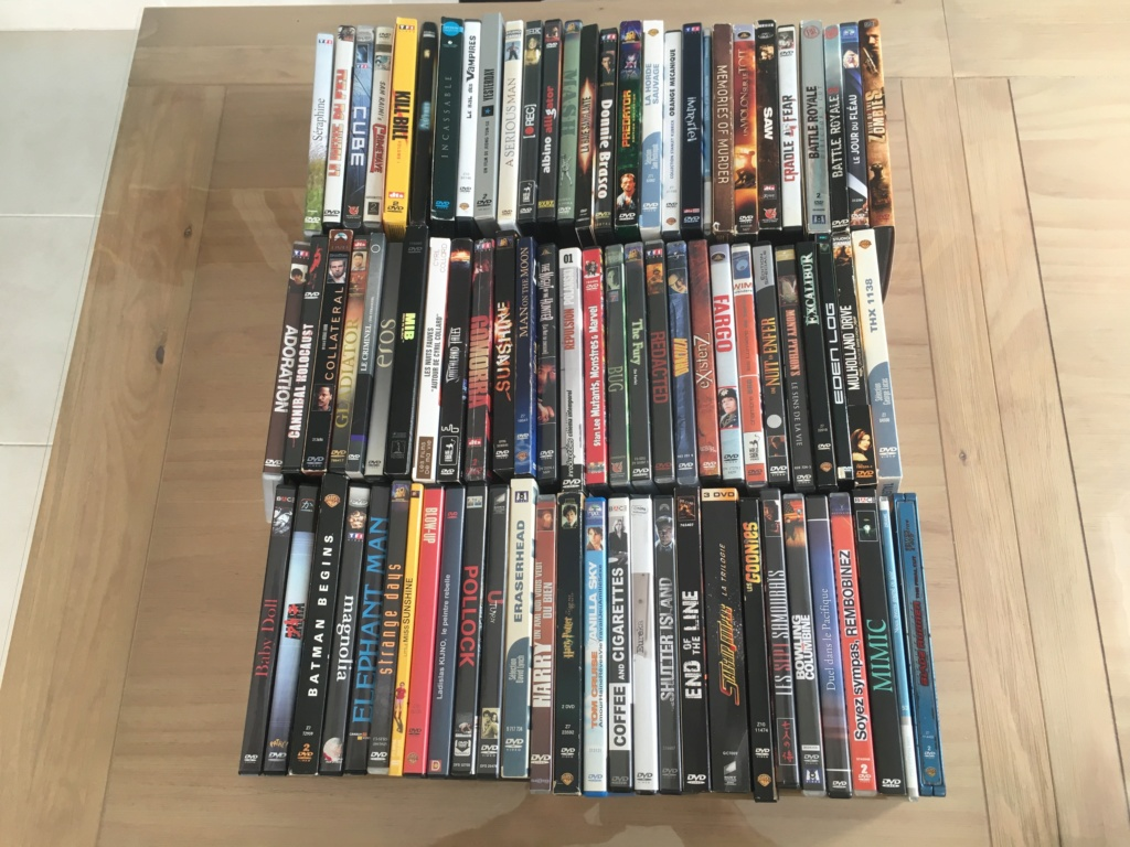 (VENDS) : Lot 20 blu-ray + lot 84 DVD + divers Dvd-lo12