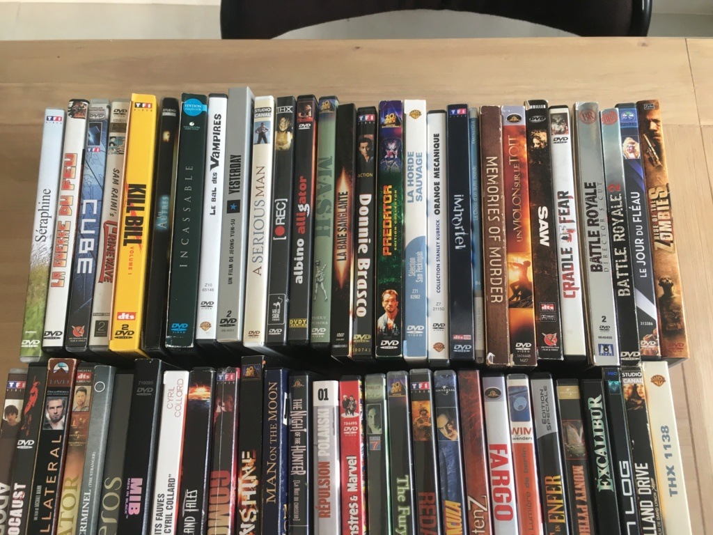 (VENDS) : Lot 20 blu-ray + lot 84 DVD + divers Dvd-lo13