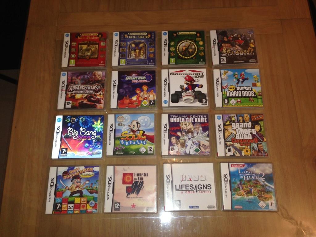 (ESTIM) : Lot de 32 jeux Nintendo DS complets (certains neufs) Lotds10