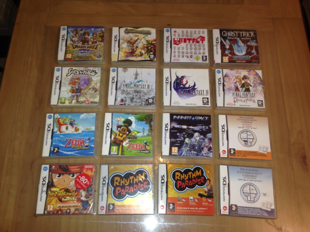 (ESTIM) : Lot de 32 jeux Nintendo DS complets (certains neufs) Lotdsb10