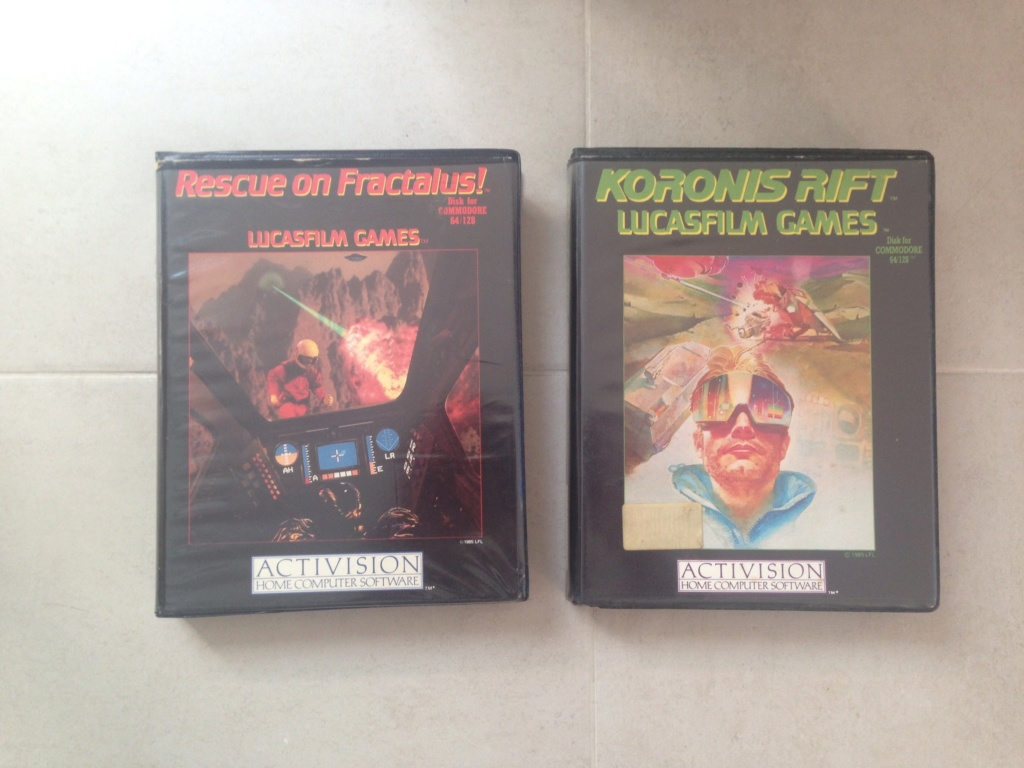 * COMMODORE C64 * TOPIC OFFICIEL - Page 31 Lucasf12