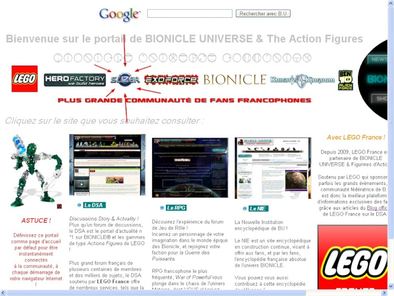 [Blog] Page d'accueil pour navigateur Internet 111